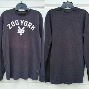 Zoo York Men's Black Long Sleeve Thermal